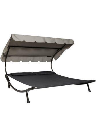 Leco Lova-gultas Stahl/Textil 200x200 cm