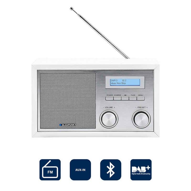 Blaupunkt »RXD 180« Radio (Digitalradio (DAB), 5 W, Küchenradio, Uhrenradio, Retroradio mit Bluetooth & DAB)