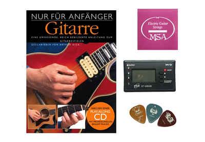 Stimmgerät »Starterset für E-Gitarre«, (Set)