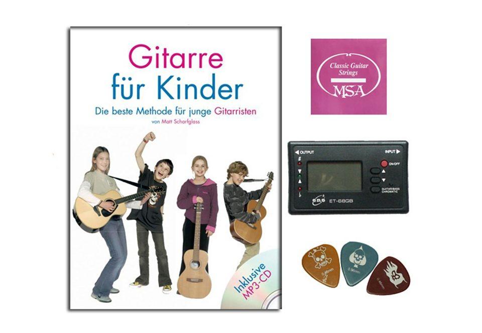 Gitarren-Starterset für Kinder, MSA