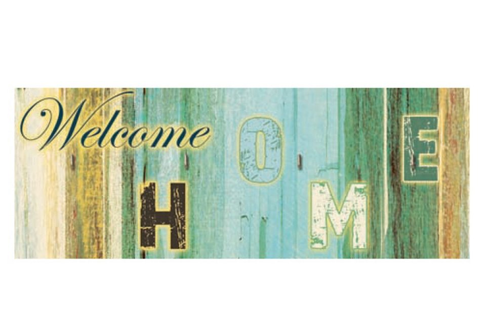 Home affaire, Schlüsselbrett, »Welcome home«, 40/15 cm