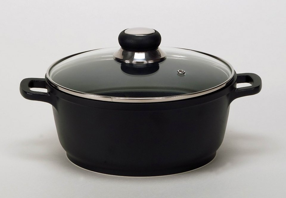 Fleischtopf, Krüger, »DELTA« in schwarz