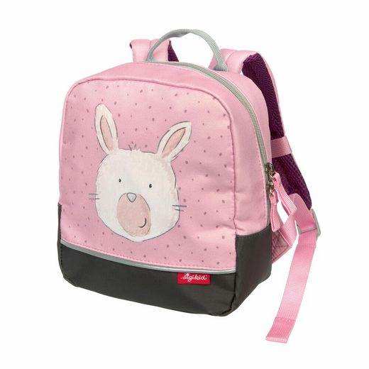 Sigikid Kinderrucksack »Bags Mini Hase Rosa 3.6 L«