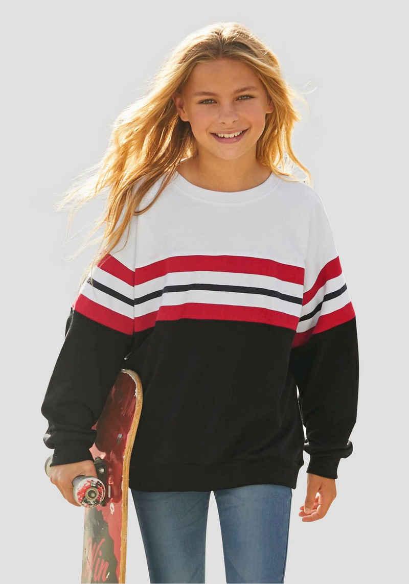 Arizona Sweatshirt in sehr weiter Form