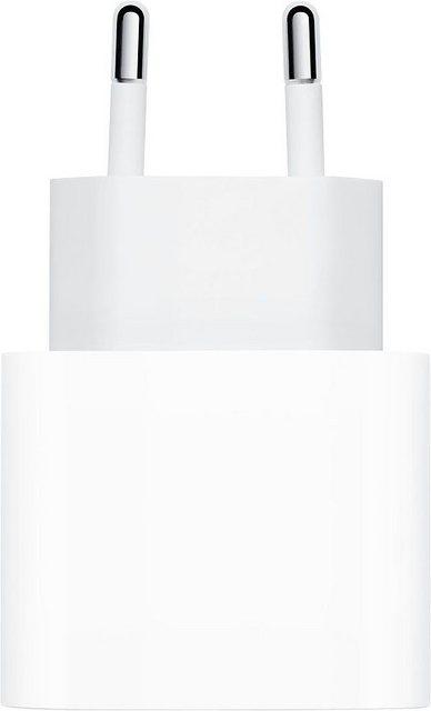 Apple »MHJE3ZM/A« USB-Ladegerät (Kompatibilität: iPhone 12 Pro iPhone 12 Pro Max iPhone 12 mini iPhone 12 iPhone 11 Pro iPhone 11 Pro Max iPhone 11 iPhone SE (2nd generation) iPhone XS iPhone XS Max iPhone XR iPhone X iPhone 8 iPhone 8 Plus iPad Pro 12.9-inch (4th generation) iPad Pro 12.9-inch (3rd generation) iPad Pro 12,9-inch (2nd generation) iPad Pro 12,9-inch (1st generation) iPad Pro 11-inch (2nd generation) iPad Pro 11-inch (1st generation) iPad Pro 10.5-inch iPad Air (4th generation) iPad Air (3rd generation) iPad (8th generation) iPad (7th generation) iPad mini (5th generation)