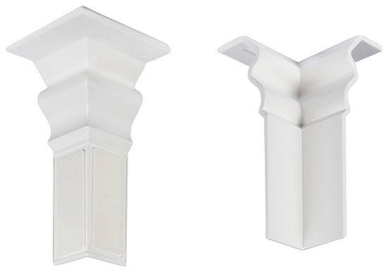 MODERNA Innenecke »HSL 60 Weiß«, selbstklebend