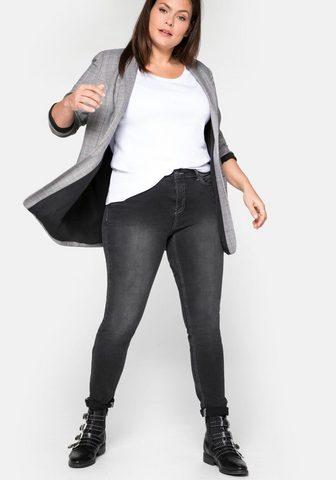 Sheego Stretch-Jeans Super elastisches Power-...