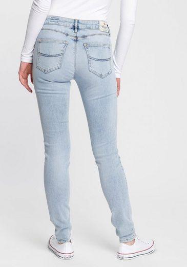 Herrlicher Slim-fit-Jeans »SUPER G SLIM« umweltfreundlich dank der ISKO New Technology