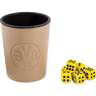 Borussia Dortmund Spiel, »BVB-Würfelbecher-Set«