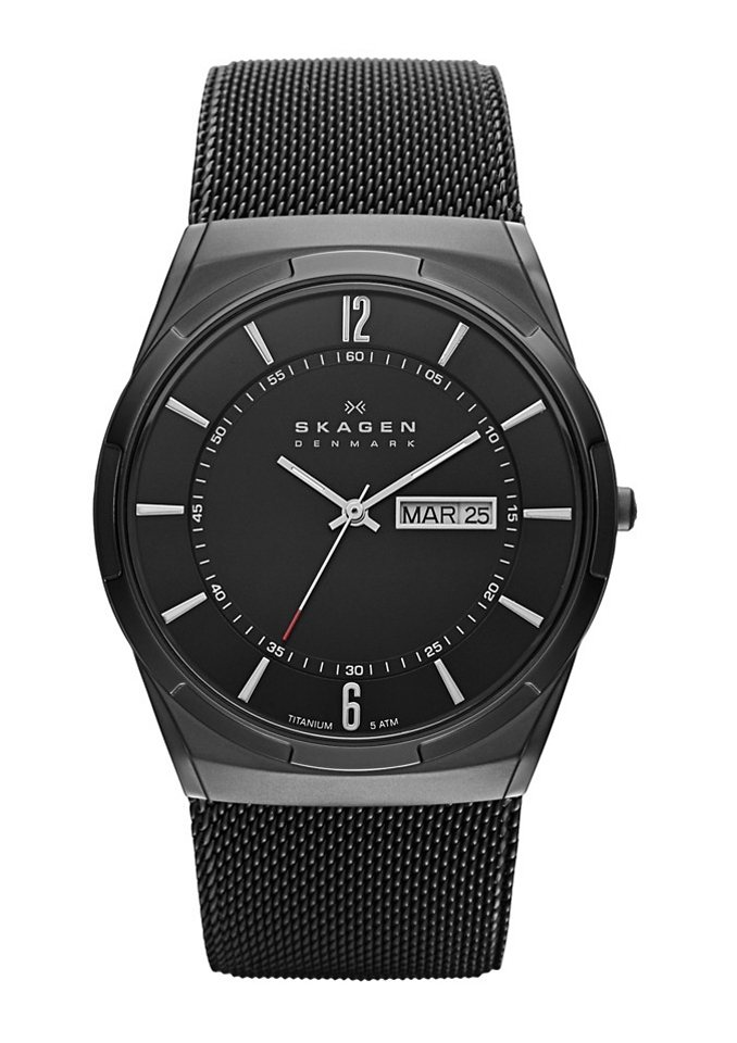 "Skagen, Armbanduhr, ""MELBYE, SKW6006"" in schwarz"