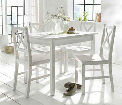 weißer esstisch online kaufen   otto, Esszimmer dekoo