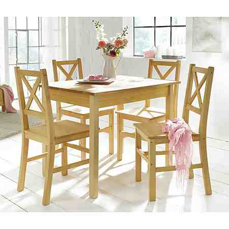 Home affaire Essgruppe, (5-tlg.), mit kleinem oder großem Tisch