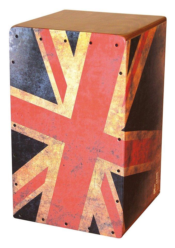 VOLT Cajon, Voggenreiter, »Union Jack«, Die phantastische Rhythmusmaschine!