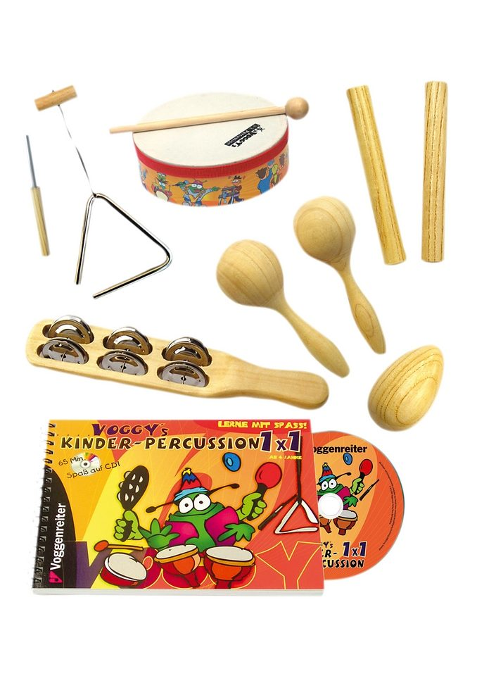 Kinder-Percussion-Set, Voggenreiter