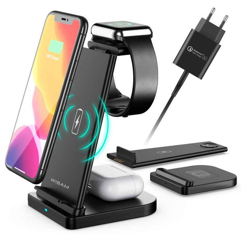 Wisam Smartphone-Dockingstation »Wisam® 3 in 1 Multifunktion 15W QI Ladestation«, Steckverbindung