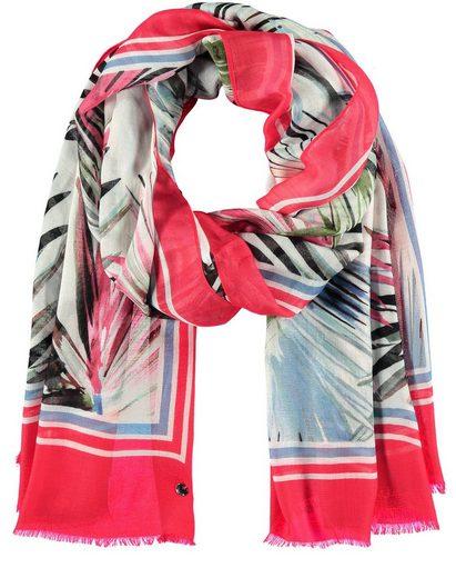Taifun Modeschal »Schal mit exotischem Print« Tuch/Schal