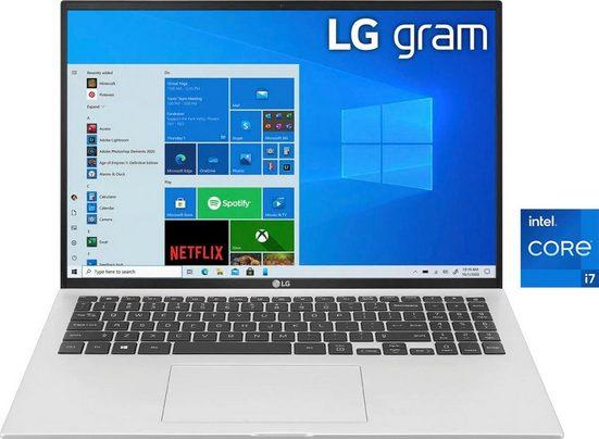 LG 17Z90P-G.AA79G Notebook (43,18 cm/17 Zoll, Intel Core i7, Iris Xe Plus Graphics, 1000 GB SSD)