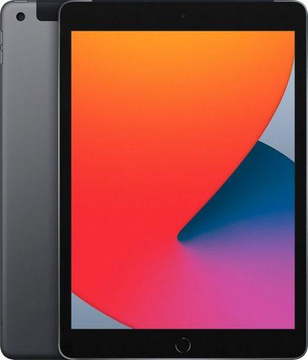 """Apple iPad Wi-Fi + Cellular 128GB Tablet (10,2"""", 128 GB, iPadOS, 4G (LTE), inkl. Ladegerät)"""