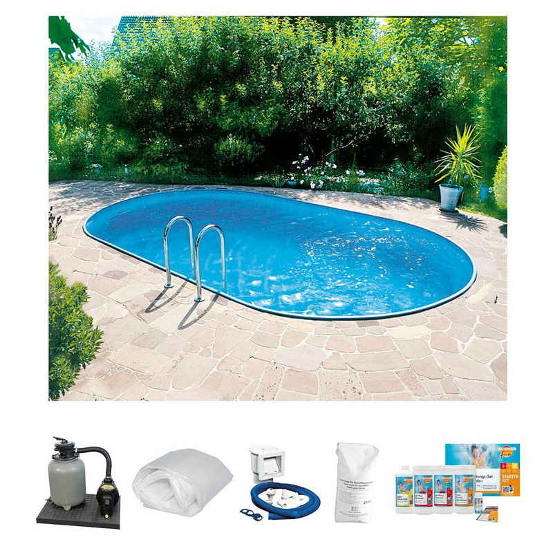 Clear Pool Ovalpool (Set)