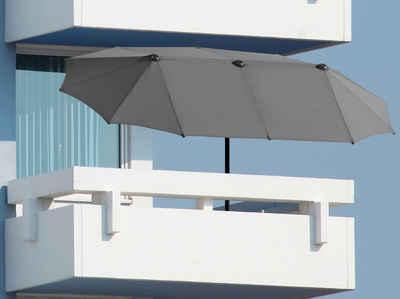 Schneider Schirme Balkonschirm »Salerno«, LxB: 300x150 cm, mit Schutzhülle, ohne Schirmständer