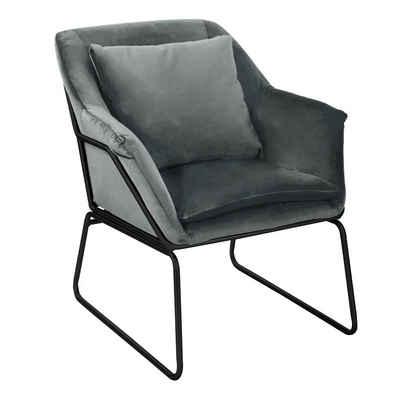SVITA Chesterfield-Sessel »JOSIE«, Großzügig gepolstert, inkl. Kissen mit Reißverschluss, große bequeme Sitzfläche, ergonomisch und mit hohem Sitzkomfort