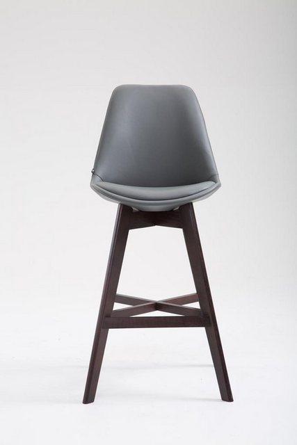 Sessel und Hocker - CLP Barhocker »Cannes Kunstleder«, mit Rückenlehnen und Fußstütze  - Onlineshop OTTO
