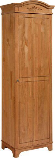 Home affaire Garderobenschrank »Viterbo« aus Kiefer massiv, in 2 Farben