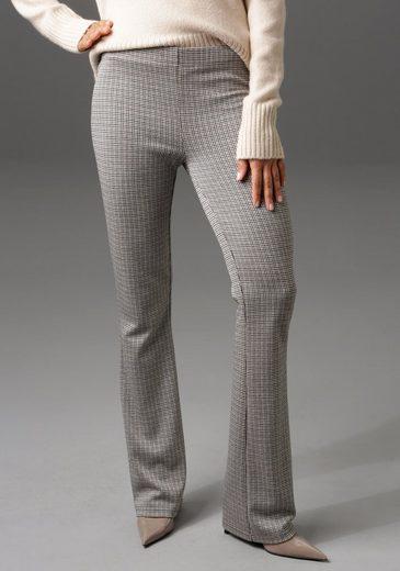 Aniston CASUAL Leggings mit ausgestelltem Bein - NEUE KOLLEKTION