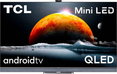TCL 65C825X1 QLED Mini LED-Fernseher (164 cm/65 Zoll, 4K Ultra HD, Android TV, Smart-TV, Android 11, Onkyo-Soundsystem)