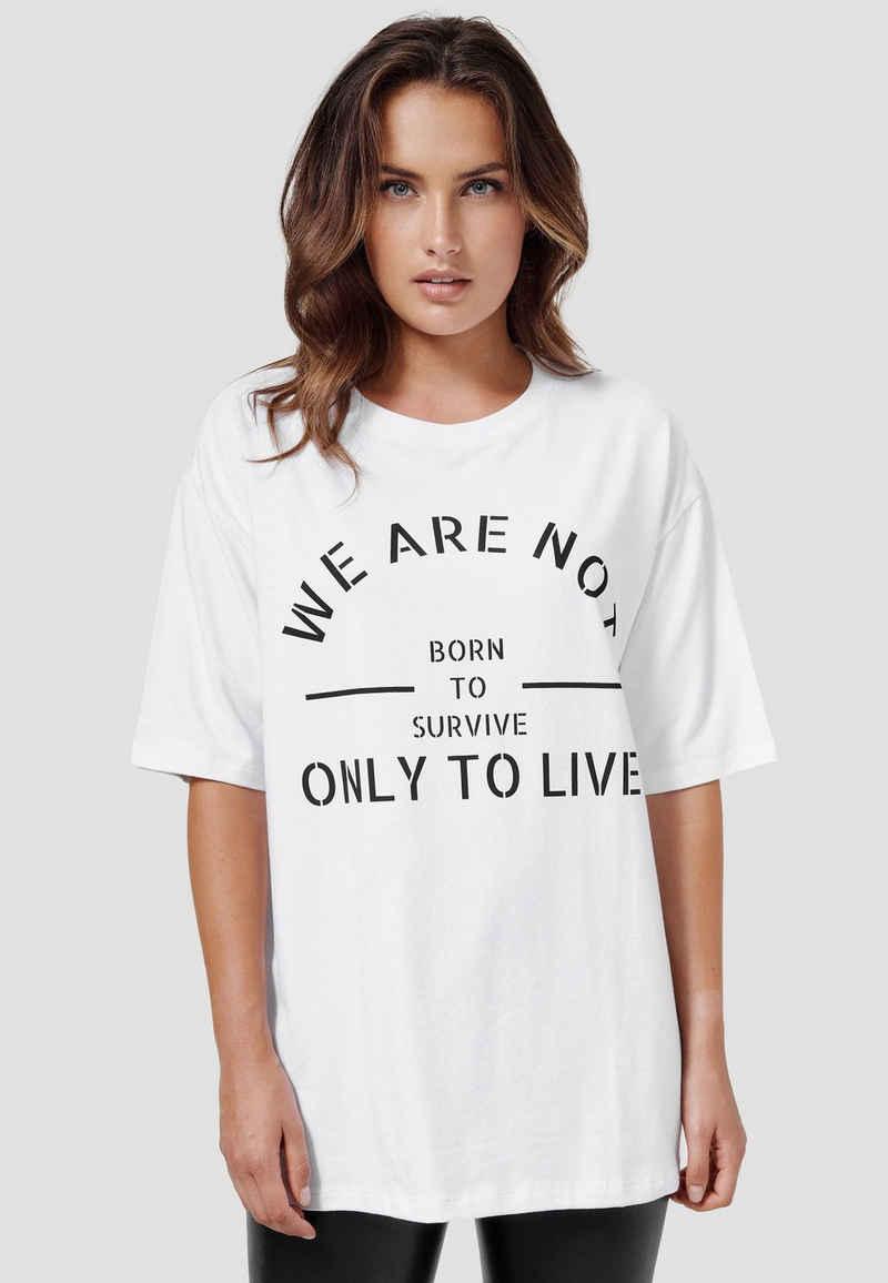 Cotton Candy T-Shirt »UMUT« im Oversize-Schnitt