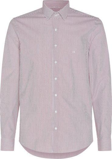Calvin Klein Businesshemd »STRETCH STRIPE SLIM SHIRT«