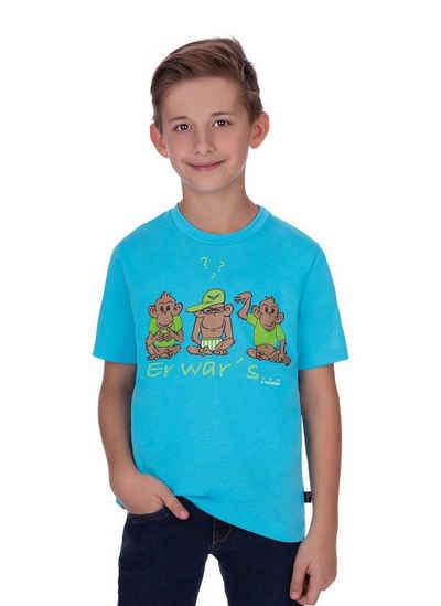 Trigema T-Shirt mit Druckmotiv