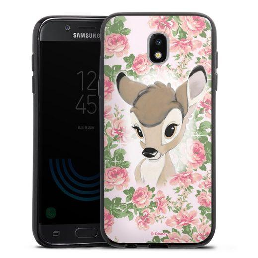DeinDesign Handyhülle »Bambi Flower Child« Samsung Galaxy J5 (2017), Hülle Bambi Disney Offizielles Lizenzprodukt