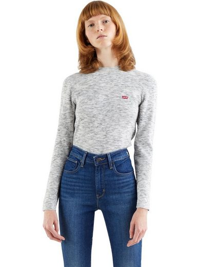 Levi's® Sweatshirt »CREW RIB SWEATER« mit Rundhalsausschnitt