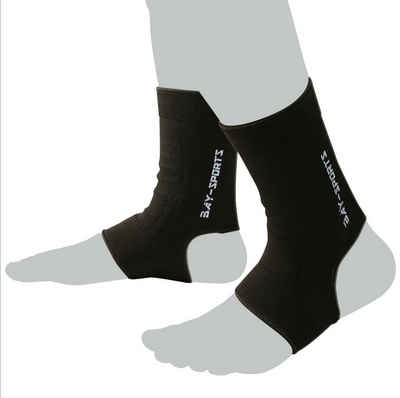 BAY-Sports Fußbandage »Uni Knöchelbandage Fußgelenkbandage Sprunggelenk«, XXS - XL, Anatomische Passform, Kompression