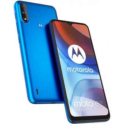 Motorola XT2097-13 Moto E7i Power 32 GB / 2 GB - Smartphone - tahiti blue Smartphone (6,5 Zoll, 32 GB Speicherplatz, 13 MP Kamera)