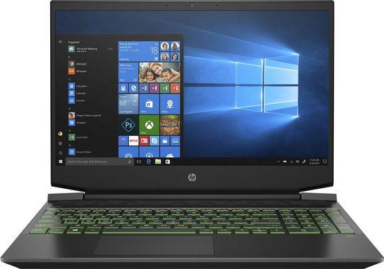 """HP Pavilion - 15-ec1239ng 15,6"""" Gaming-Notebook (39,6 cm/15,6 Zoll, AMD Ryzen 7, GeForce GTX 1650 Ti, 1000 GB SSD, Kostenloses Upgrade auf Windows 11, sobald verfügbar)"""