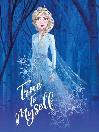 KOMAR Wanddekoration »Frozen 2 Elsa true to myself«, ohne Rahmen