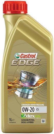 Castrol Motoröl »EDGE 0W-20 C5 1 ltr«, für PKW