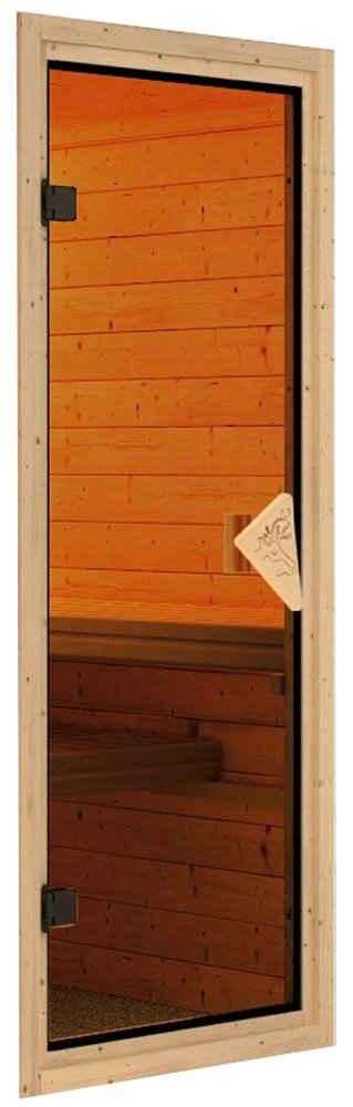 Karibu Saunatür »Türpaket 68 mm Sauna bronze«