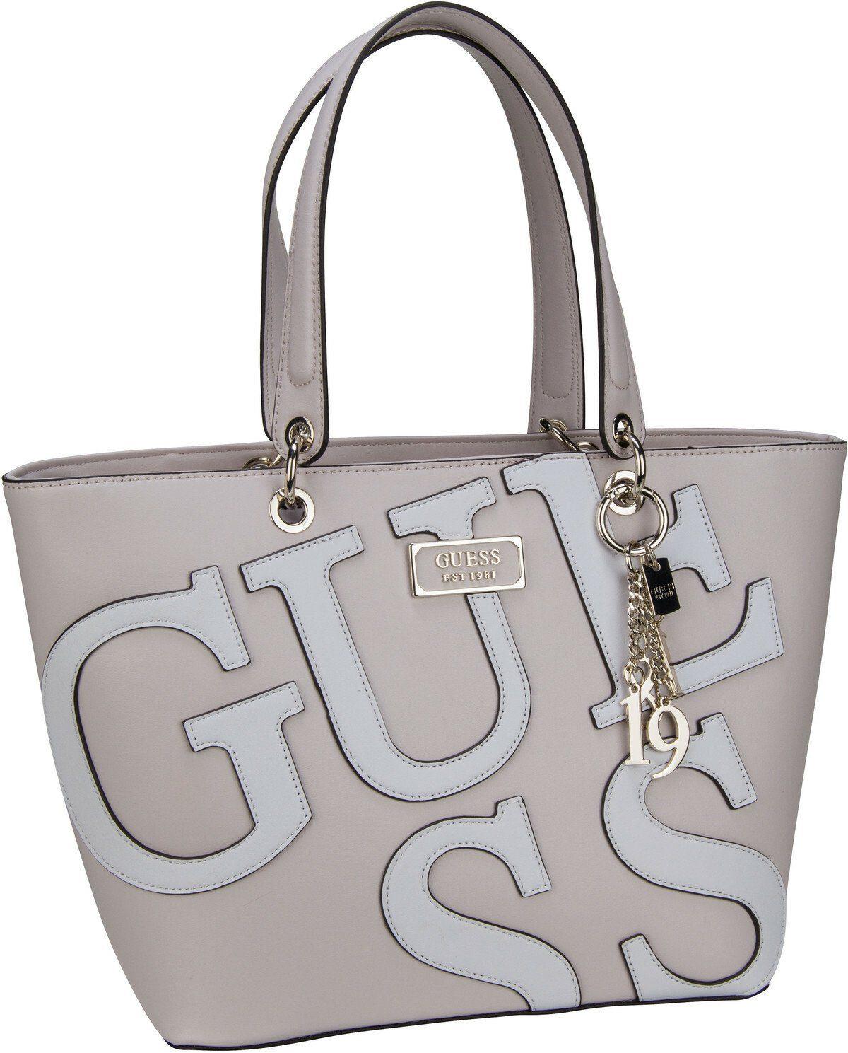 Guess Handtaschen Anhänger, Schlüsselanhänger Schriftzug NEU