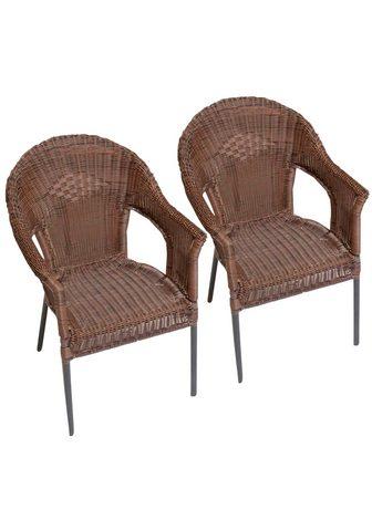 MERXX Sodo kėdė »Ravenna« Polyrattan stapelb...