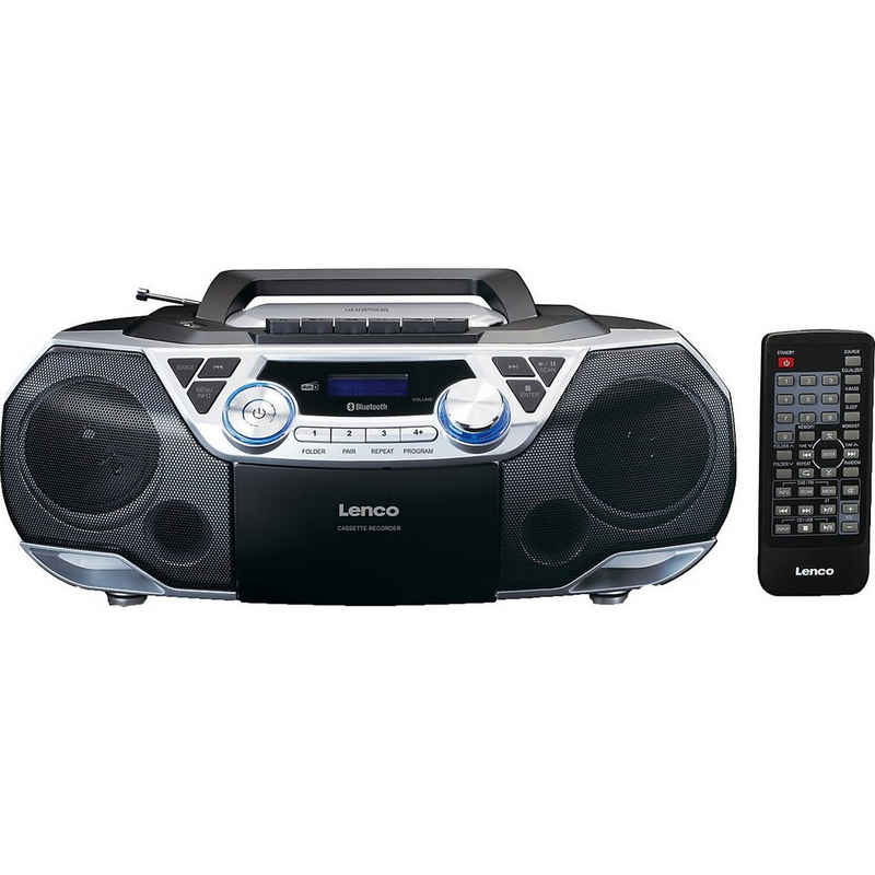 Lenco »SCD-720SI - XXL Boombox CD/MP3/Kassetten-Player« CD-Player