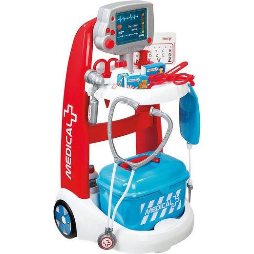 Smoby Arzttasche »Elektronisches Doktor-Trolley«