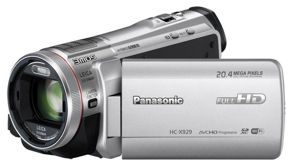 Panasonic HC-X929 1080p (Full HD) Camcorder, 3D-fähig ...