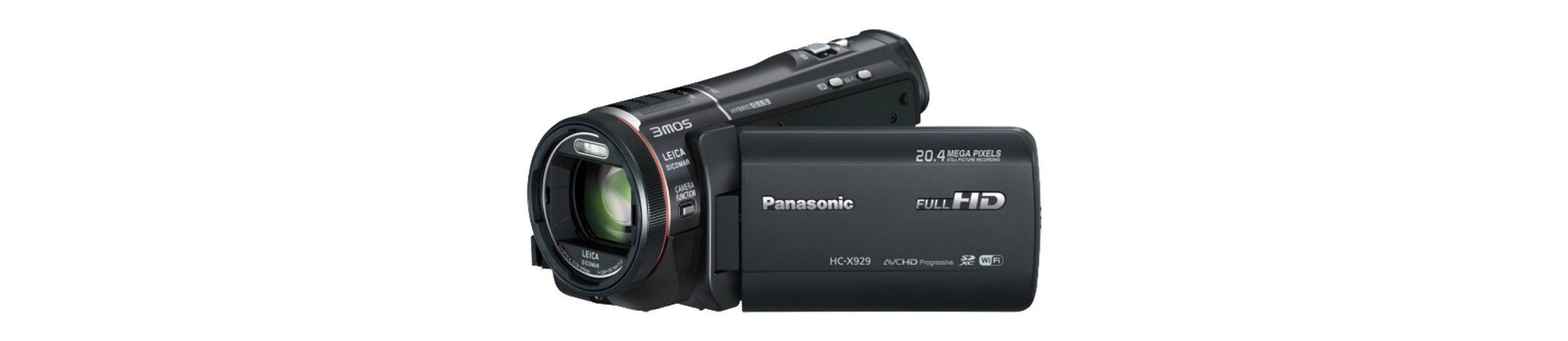 Panasonic HC-X929 1080p (Full HD) Camcorder, 3D-fähig, WLAN