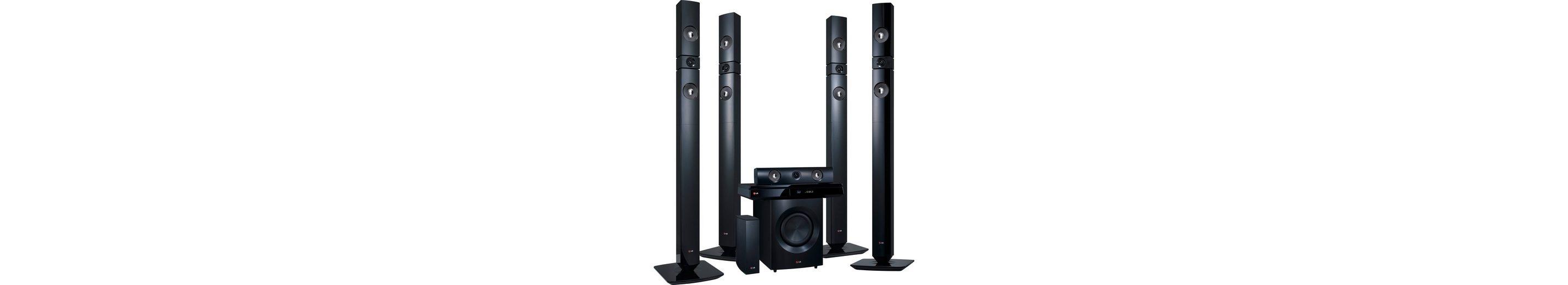 LG BH7530TWB 5.1 Heimkinosystem (3D Blu-ray Player, 1.200 W, WLAN, Bluetooth, Spotify)