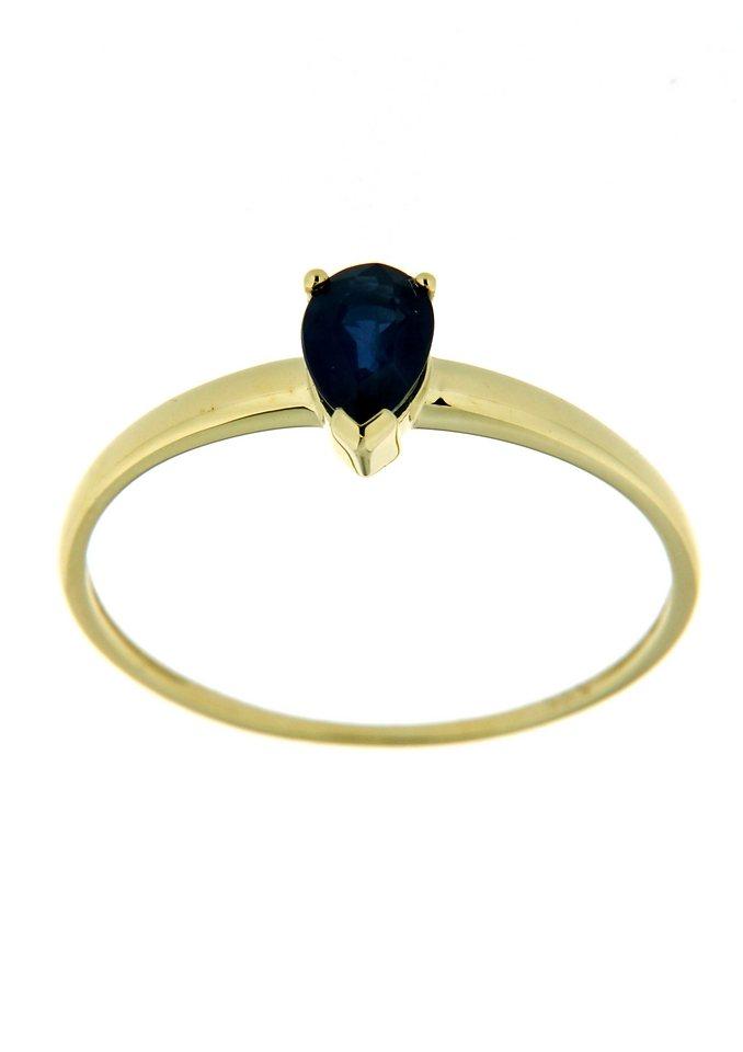"Vivance Jewels Ring ""Tropfen"" mit Safir in blau"