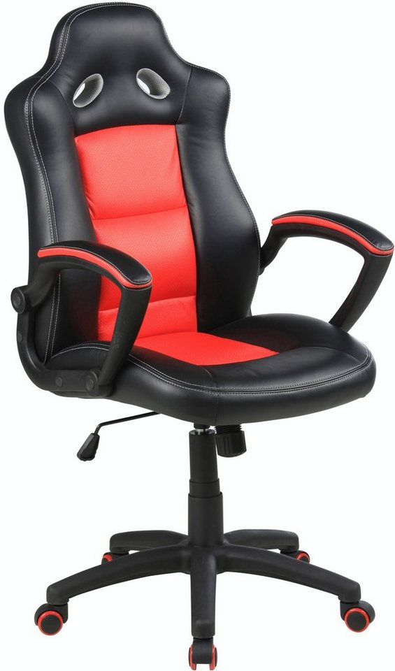 DUO Collection Gaming Chair »Spider« in schwarz-rot