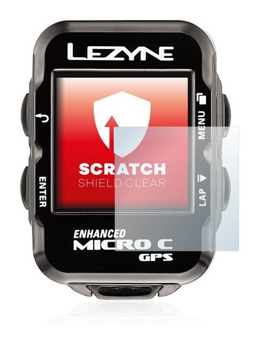 upscreen Schutzfolie »für Lezyne Micro C GPS«, Folie Schutzfolie klar anti-scratch